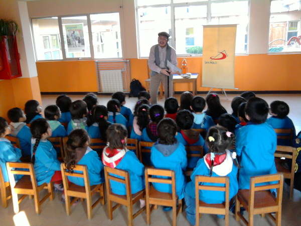 SAN PABLO Puerto Montt primer Cuenta Cuentos Jardín infantil Semillitas del Sur