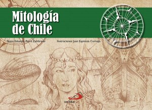 Portada libro Mitologia de Chile