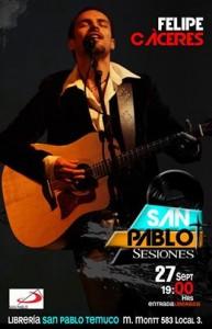 2ª sesión de concierto en SAN PABLO Temuco