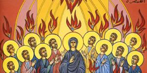 La Paz esté con ustedes Pentecostés