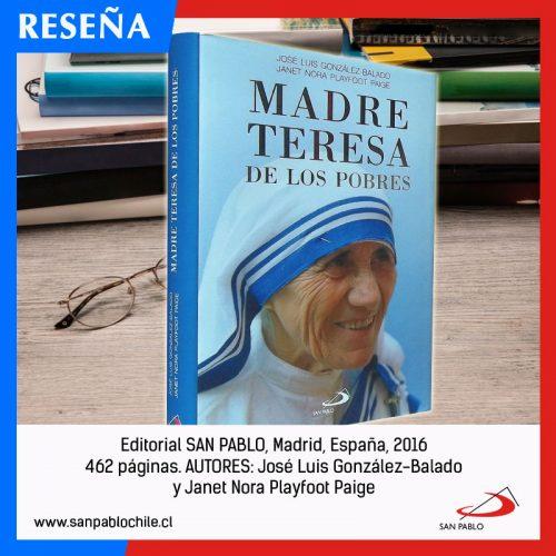 RESEÑA: Madre Teresa de los Pobres