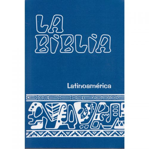 Biblia flexible azul