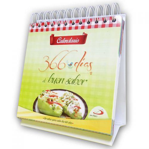 Calendario 366 dias de buen sabor