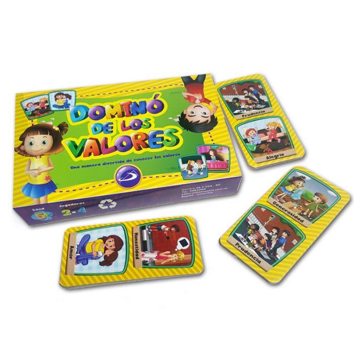 Domino de los valores