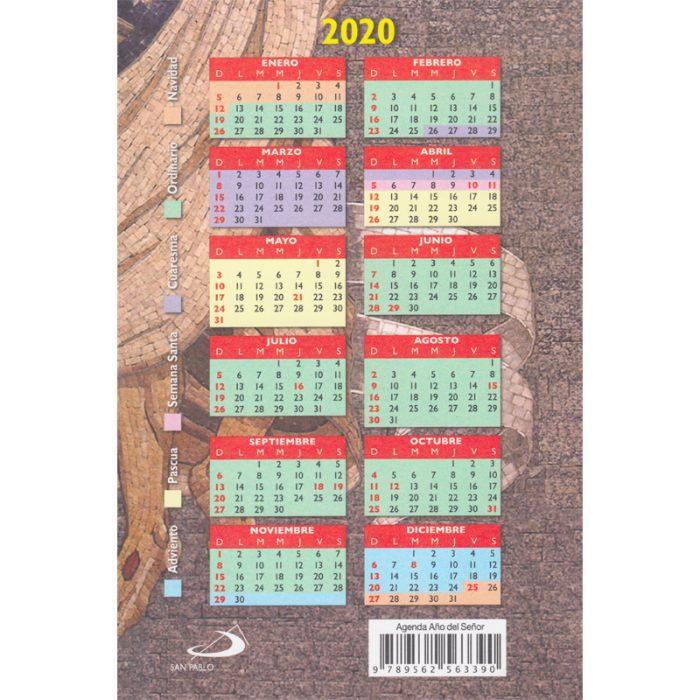 agenda año del Señor 2020