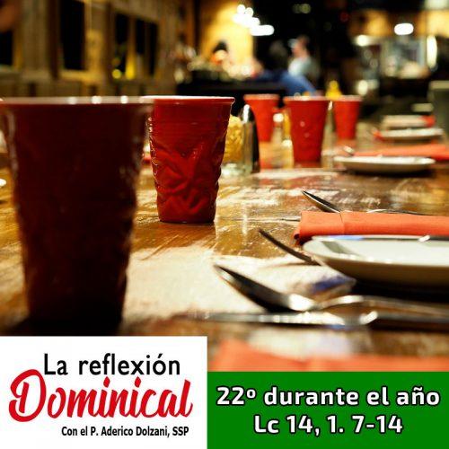LA REFLEXIÓN DOMINICAL: Domingo 22º durante el año