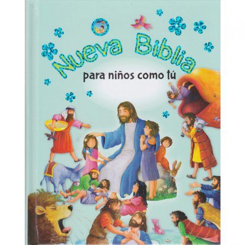 Nueva Biblia para niños como tu
