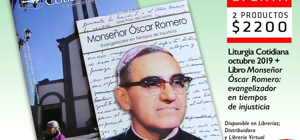 Este mes, lleva la Liturgia Cotidiana de octubre junto al libro….