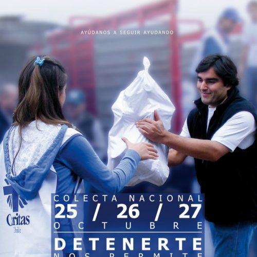 Caritas Chile realiza su colecta nacional en octubre
