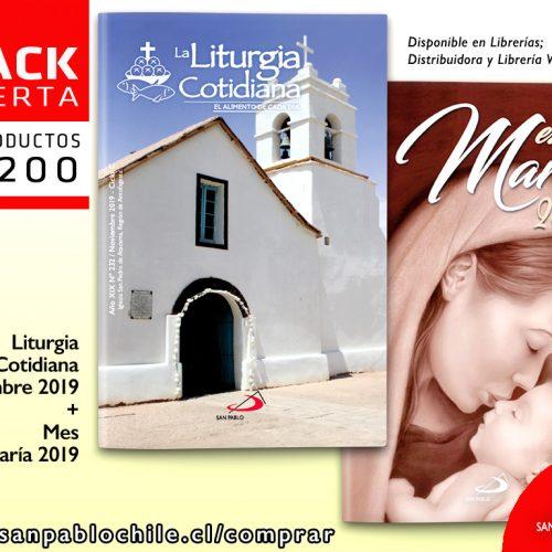 Prepara el MES DE MARÍA junto al pack SAN PABLO de Noviembre