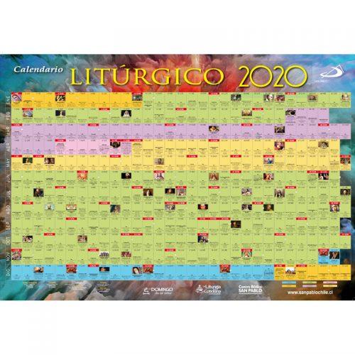 Calendario litúrgico mural 2020
