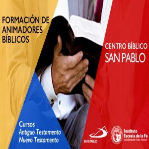 El Centro Bíblico SAN PABLO te invita a sus cursos 2020