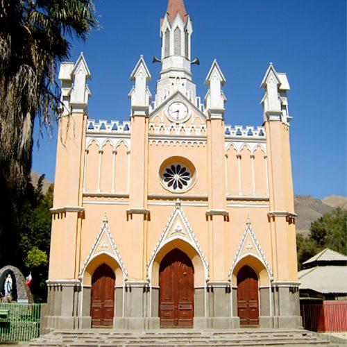 Parroquia Nuestra Señora de Loreto, Tierra Amarilla, Copiapó, Región de Atacama