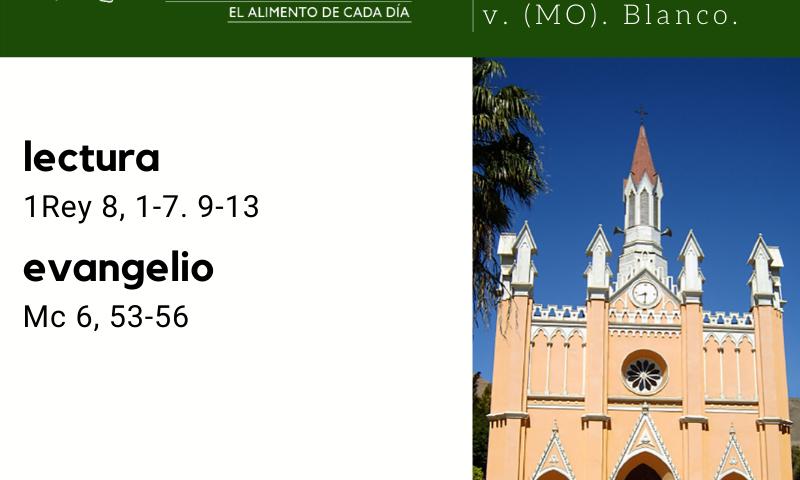 LUNES 10: Santa Escolástica, v. (MO). Blanco.