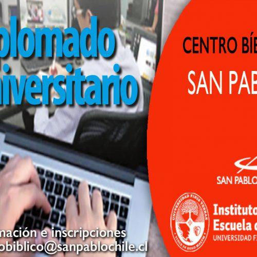 El Centro Bíblico SAN PABLO te invita a inscribirte en el Diplomado en Evangelios