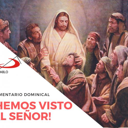COMENTARIO DOMINICAL: ¡Hemos visto al Señor!