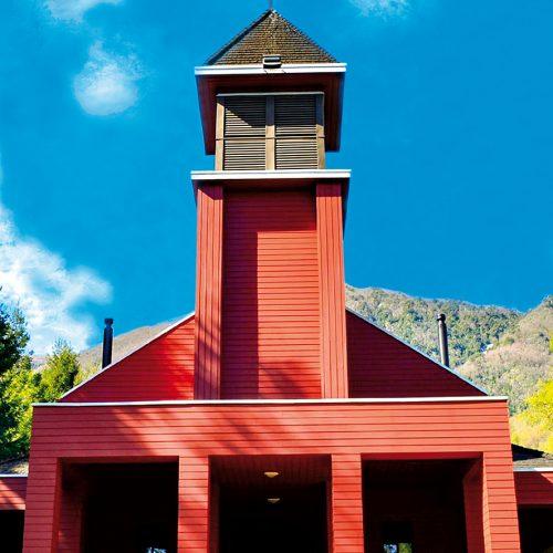 Santuario Santa Teresa de Los Andes, Aguas Blancas, Región del Biobío