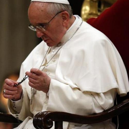 Este sábado: El Papa nos invita a rezar juntos el Rosario