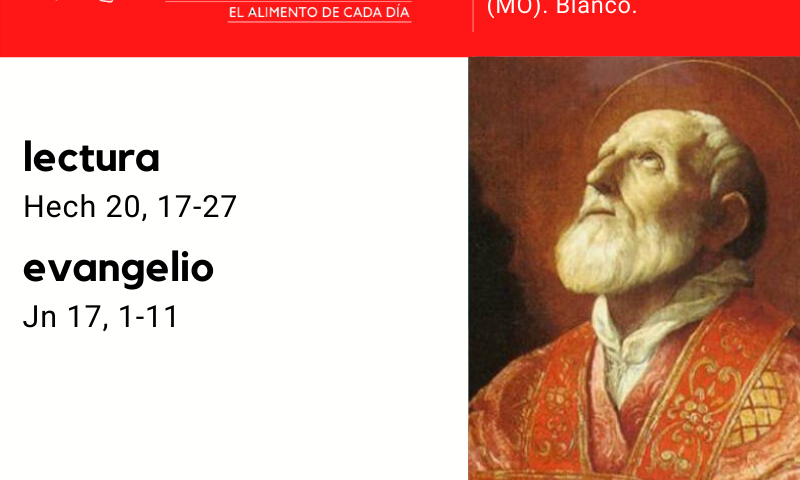 MARTES 26: San Felipe Neri, p. (MO). Blanco.