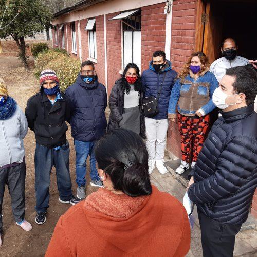 Arzbispado de Santiago abre un nuevo albergue para acoger personas en situación de calle