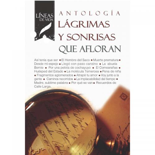 Antología Líneas de Vida 2018: Lágrimas y sonrisas que afloran