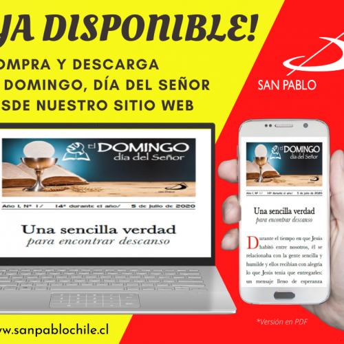 """Compra y descarga """"El Domingo, día del Señor"""" desde nuestro sitio web"""