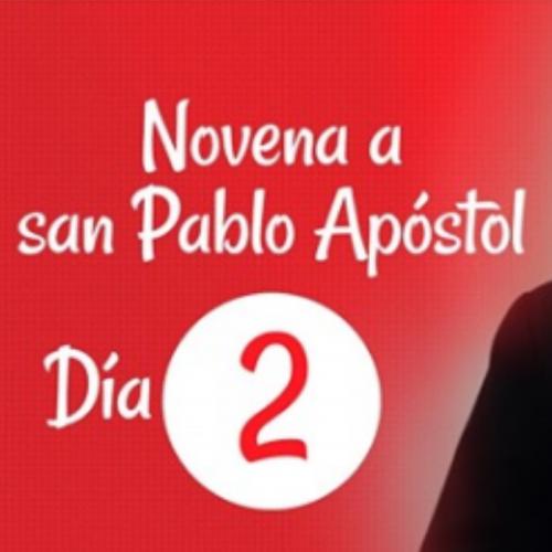 NOVENA A SAN PABLO APÓSTOL: Día 2
