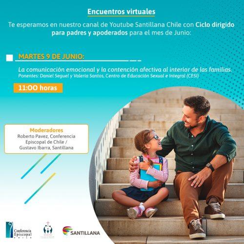 INVITACIÓN: Encuentros Virtuales para Padres y Apoderados