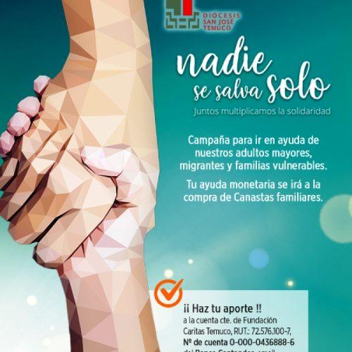 Diócesis San José de Temuco puso en marcha Campaña Solidaria