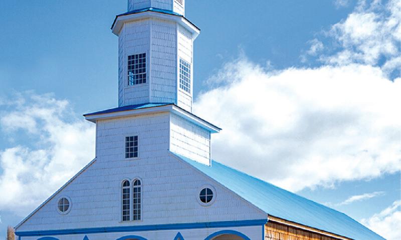 Iglesia Santa María de Rilán, Región de los Lagos