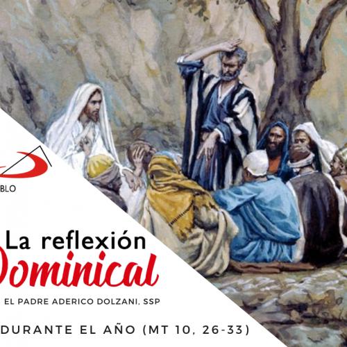 LA REFLEXIÓN DOMINICAL: 12° domingo durante el año