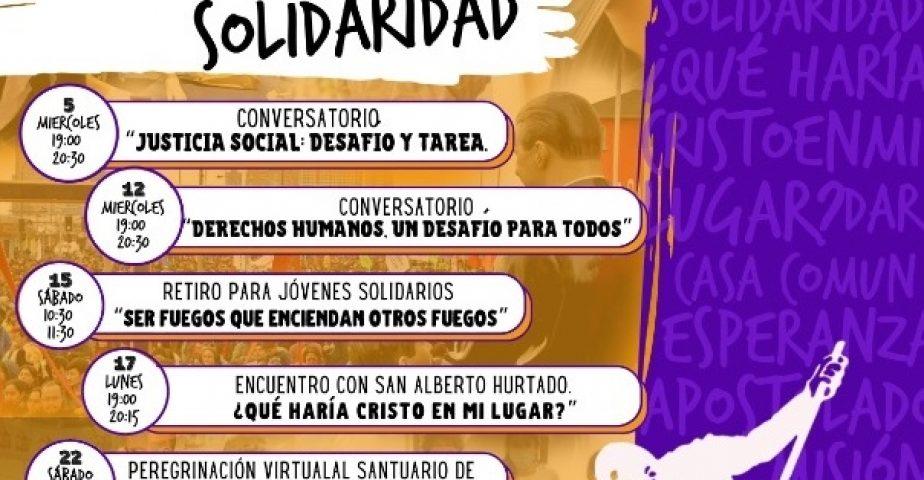 Mes de la Solidaridad 2020