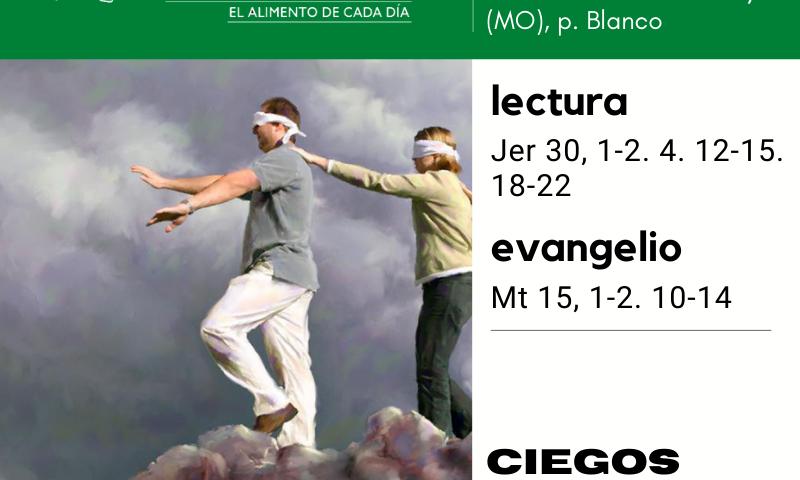 LITURGIA COTIDIANA MARTES 4: San Juan María Vianney (MO), p. Blanco