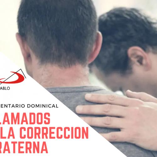 COMENTARIO DOMINICAL: Llamados a la corrección fraterna