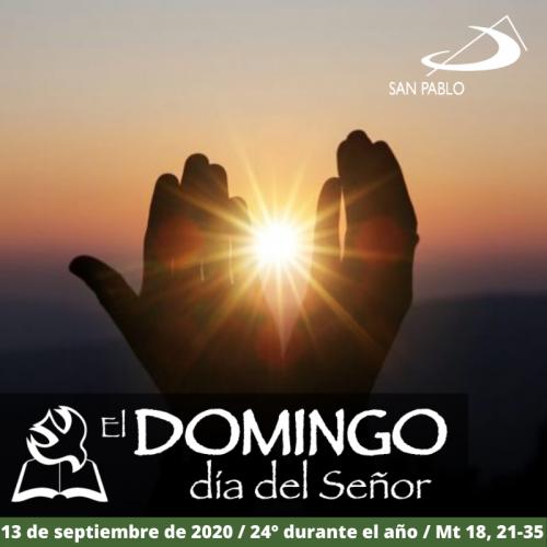 Evangelio del domingo 13 de septiembre de 2020