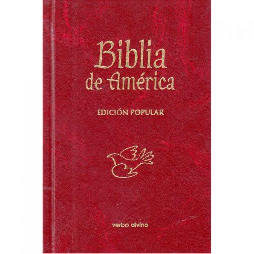 Biblia de América - edición Popular