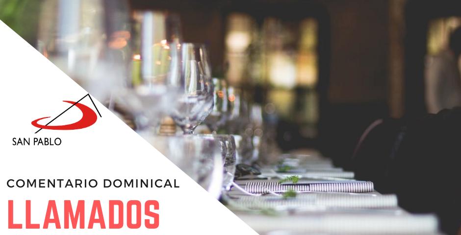 COMENTARIO DOMINICAL: Llamados al banquete nupcial de Jesús