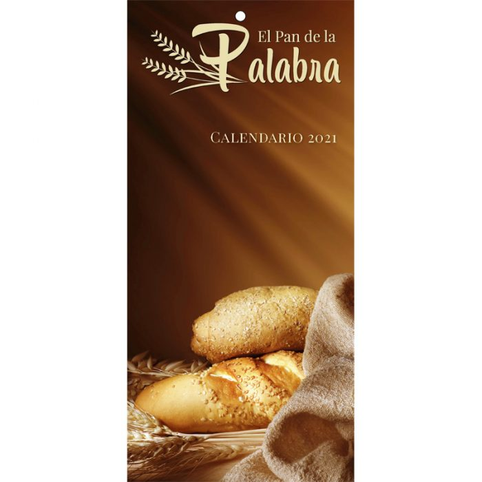 Calendario pan del palabra 2021
