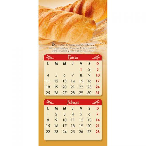 Calendario pan de la palabra