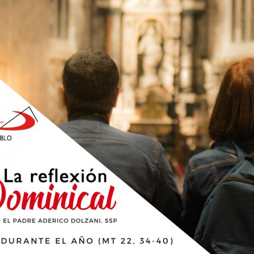 LA REFLEXIÓN DOMINICAL: Domingo 30º durante el año
