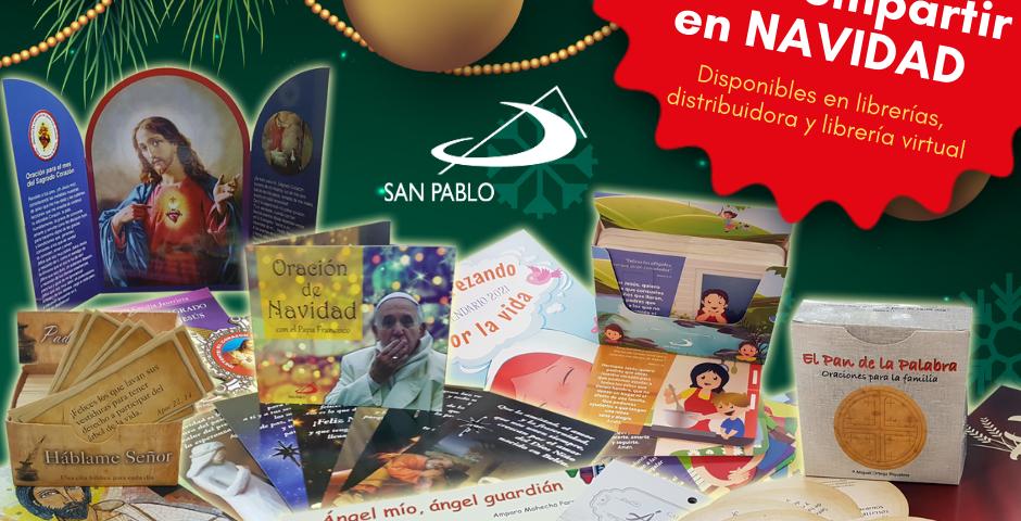 Un regalo SAN PABLO para compartir en Navidad