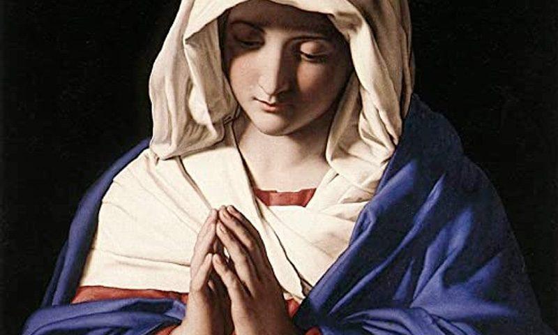 Catequesis del Papa: María modelo silencioso de oración