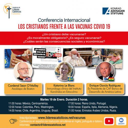 Conferencia Internacional: Los cristianos frente a las vacunas Covid19