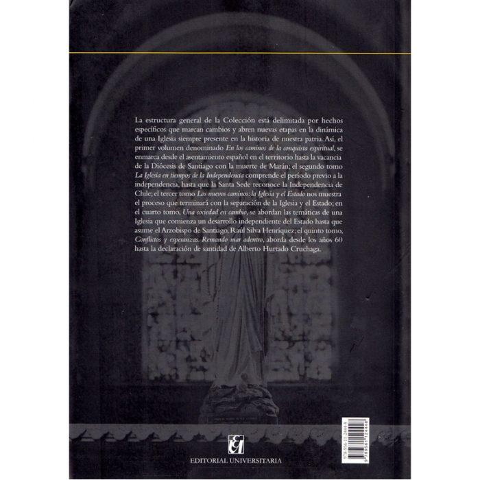 Historia de la Iglesia en Chile. Tomo IV