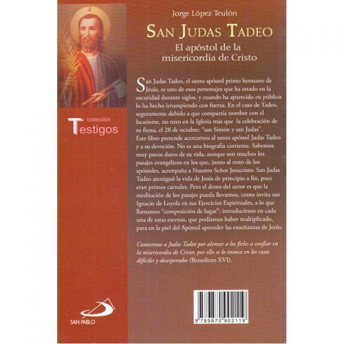 San Judas Tadeo, El apóstol de la misericordia de Cristo.