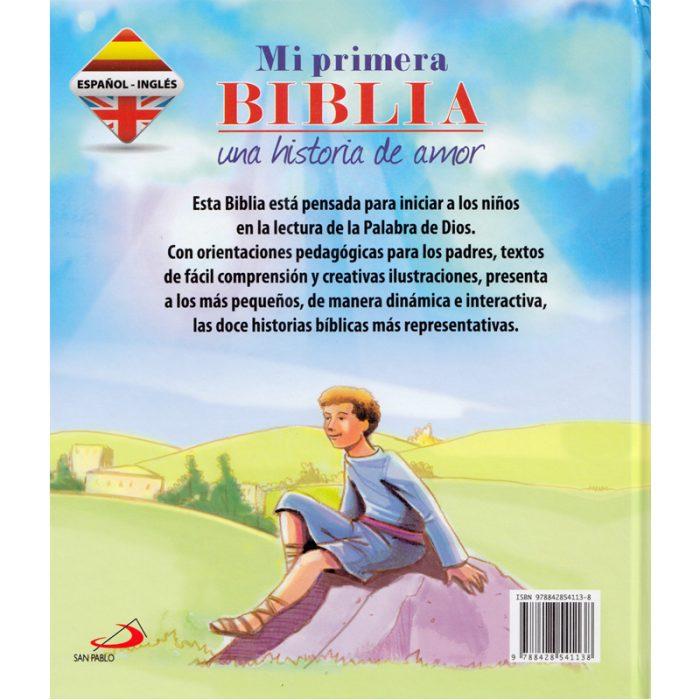 Mi Primera Biblia (BILINGÜE) Una Historia de amor .