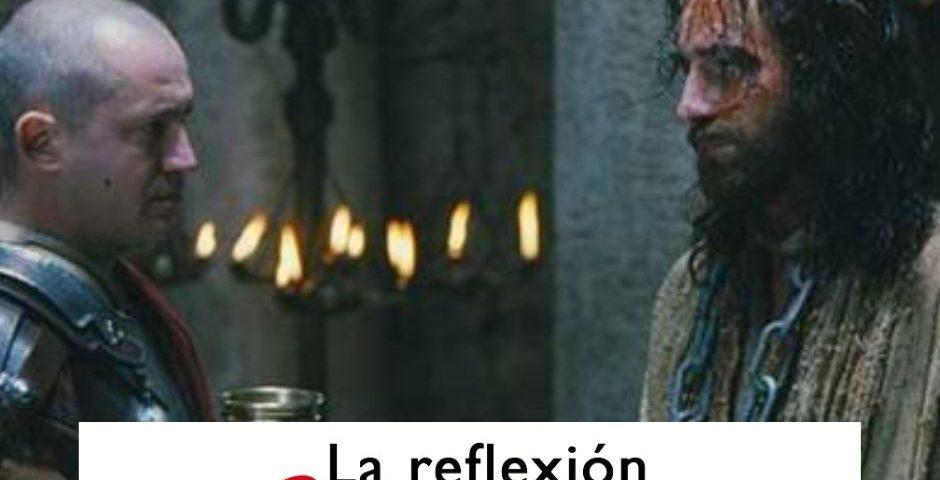 LA REFLEXION DOMINICAL VIERNES SANTO