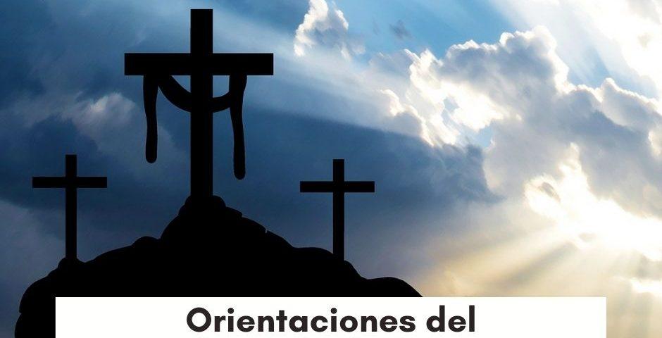 Orientaciones del Arzobispado de Santiago para celebrar Semana Santa
