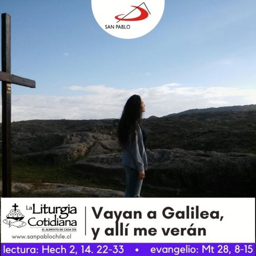 LITURGIA COTIDIANA 5 DE ABRIL: LUNES DE LA OCTAVA DE PASCUA. Blanco.