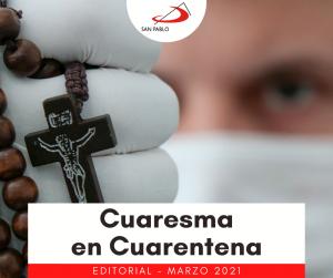 EDITORIAL CUARESMA EN CUARENTENA